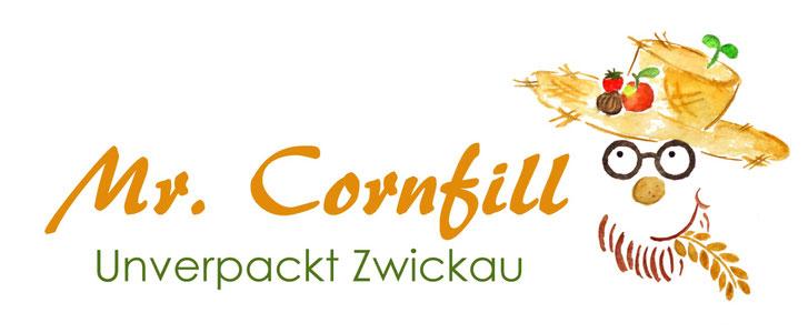 Logo Mr. Cornfill, Unverpackt Zwickau